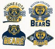 Logotipos para o esporte Fotografia de Stock
