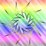 [logotipos] um 1 fundo do arco-íris imagem de stock royalty free