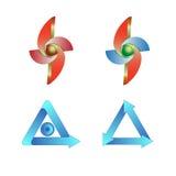 logotyp Royaltyfri Fotografi