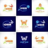 logotyp ikona Obrazy Stock