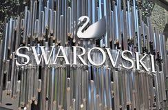 Logotyp Swarovski Obrazy Stock