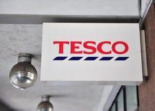 Logotyp Tesco supermarket Zdjęcie Royalty Free