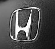 Logotype της Honda στοκ φωτογραφίες