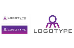 Logotype Royalty Free Stock Photos