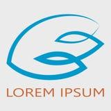 Logotype abstrait d'aile Photos libres de droits
