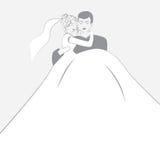 Logotype de mariage Photographie stock libre de droits