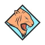 Logotype de Tiger Head Photos stock