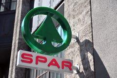 Logotype del longarone Fotografia Stock Libera da Diritti