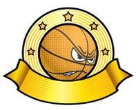 Logotype do basquetebol Imagens de Stock Royalty Free