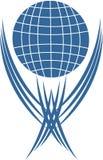 Logotype emblem vector Royalty Free Stock Images