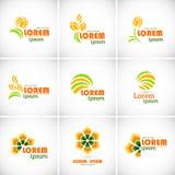 Logotype icon. Stock Photos