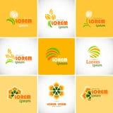 Logotype icon. Royalty Free Stock Photo