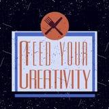 Logotype inspirador do colorfull do vintage Imagem de Stock