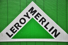 Logotype of Leroy Merlin company Stock Photography