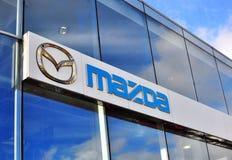 Logotype of Mazda Stock Photo