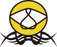 Logotype novo impressionante Imagens de Stock Royalty Free