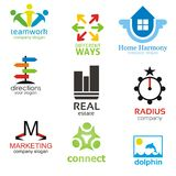 Logotype Templates Pack Stock Photo