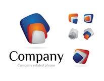 Logotype V3 Stock Image