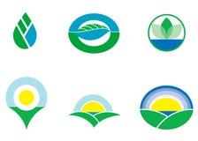 logotyper Arkivfoton