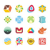 Logotypereeks Royalty-vrije Stock Afbeelding