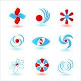 Logotypes. Set of vector templates for logotypes Royalty Free Stock Photo