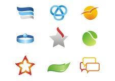 Logotypes corporativos Imagens de Stock