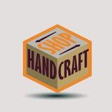 Logotypes retros das insígnias do projeto da cor ajustados Imagem de Stock Royalty Free