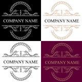 Logotypy ustawiający projektów elementy obrazy royalty free