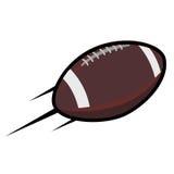 Logovektor för amerikansk fotboll Royaltyfria Foton