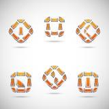 logowie Zdjęcie Stock