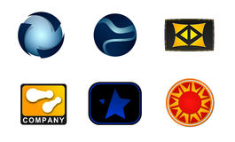 logowie Zdjęcia Stock