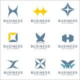 Logowie dla biznesu Obrazy Royalty Free