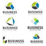 Logowie dla biznesu Zdjęcia Stock
