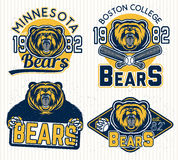 Logowie dla sporta Fotografia Stock