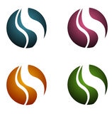 logowie nowożytny s Zdjęcia Stock