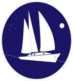 logoyacht stock illustrationer
