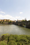 Logroño city, road to Santiago de Compostela, La Rioja Royalty Free Stock Image