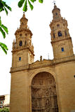 Logrono Cathedral of Santa Maria la Redonda Royalty Free Stock Photography