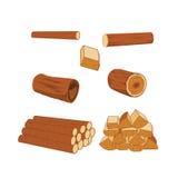 logs illustration stock