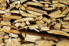 Logs background Royalty Free Stock Photos