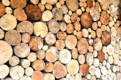Logs background Royalty Free Stock Photo