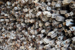Logs background Stock Photography
