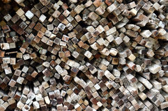 Logs background Royalty Free Stock Image