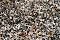 Logs background Royalty Free Stock Images