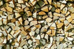 The logs Stock Photography