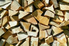 The logs Royalty Free Stock Photo