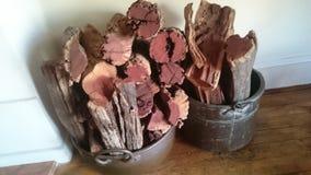 Logs da lenha Imagens de Stock Royalty Free