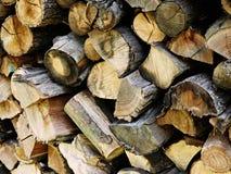 Logs da lenha Fotografia de Stock Royalty Free