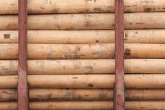 Logs empilés image libre de droits