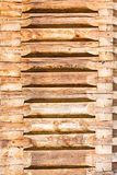 Logs, a house felling Royalty Free Stock Image